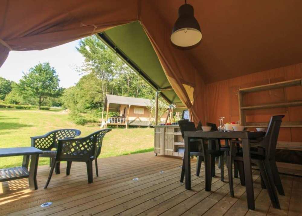 Safaritent op camping de vechtvallei - omgeving Hardenberg